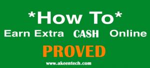 proven ways to make extra money online