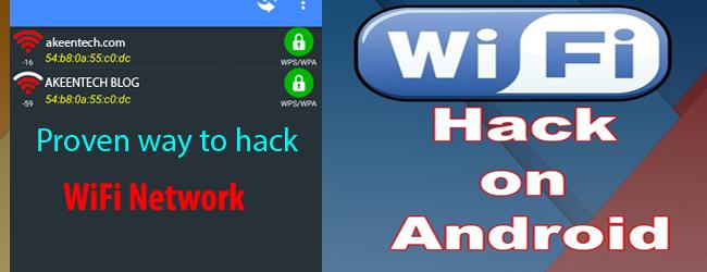 Hack wifi network password