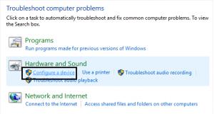 Using troubleshooter: Akeentech blog