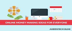 Money making ideas