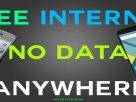 Free internet data