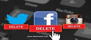 Remove the social media apps