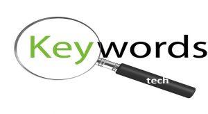Try using keywords