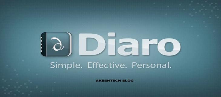 Diaro app