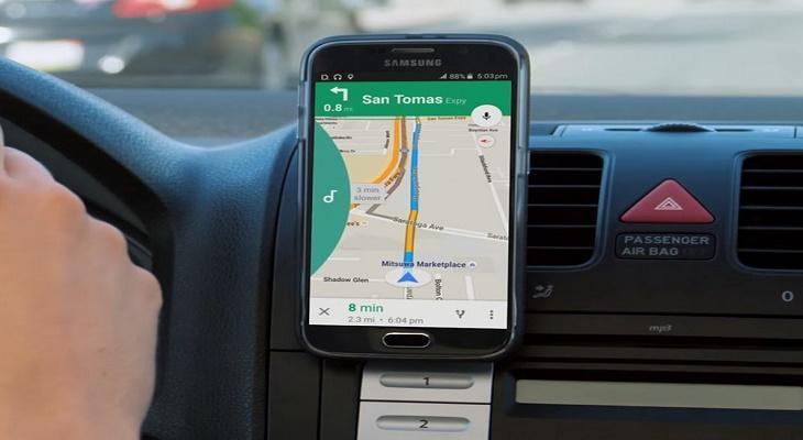 Launching GPS Navigation