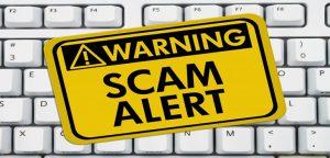 Online money making scam