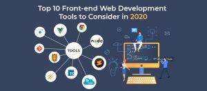front-end web development tools