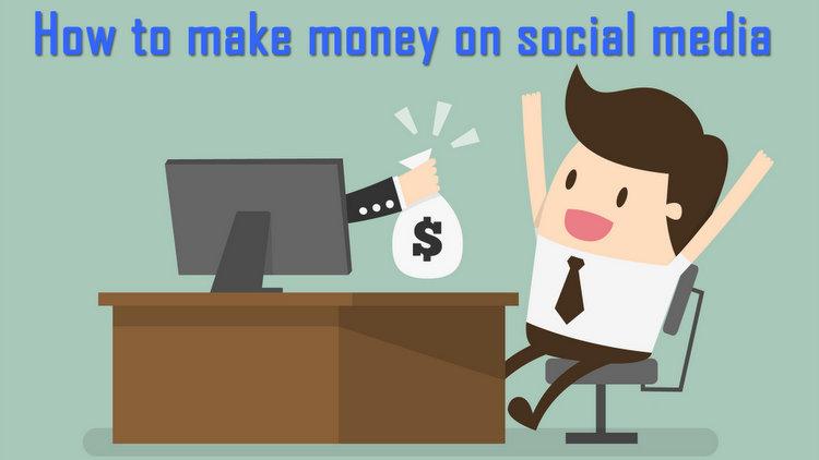 ways to make money via social media